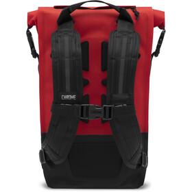 Chrome Urban EX Rolltop Backpack 18l red/black